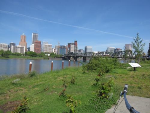 bike riverfront