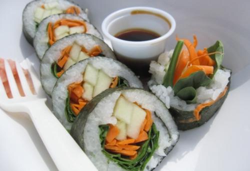 veggie fest sushi