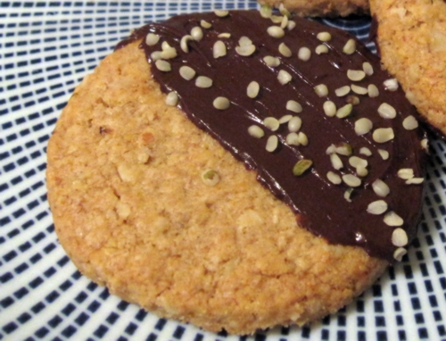 choc hemp cookie