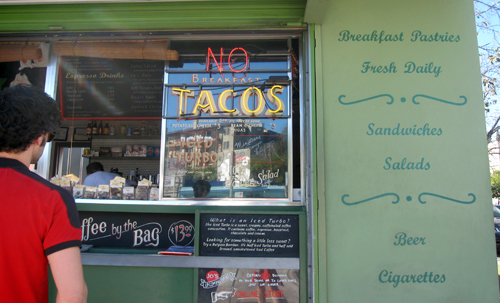 no breakfast tacos