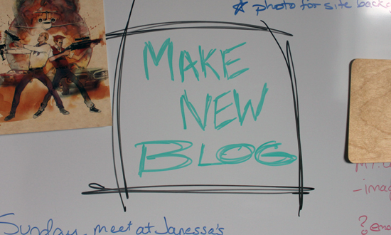 make new blog