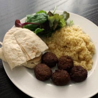 felafel lunch